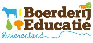 Logo Boerderij-educatie Rivierenland